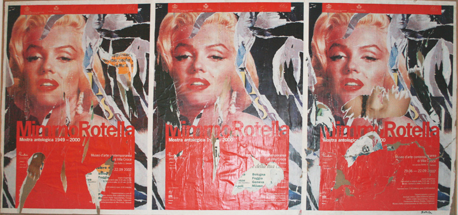Mimmo Rotella Le Marilyn