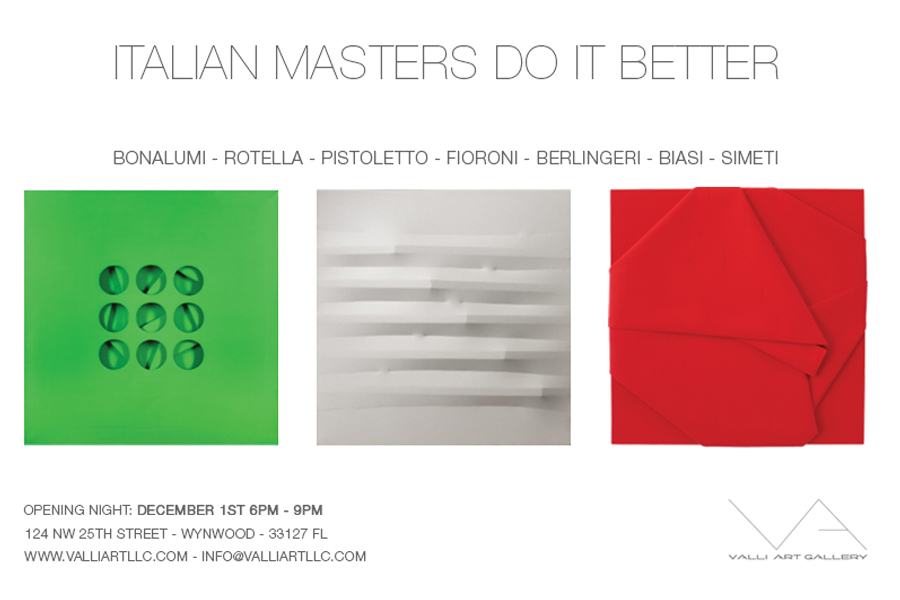 ITALIAN MASTERS DO IT BETTER