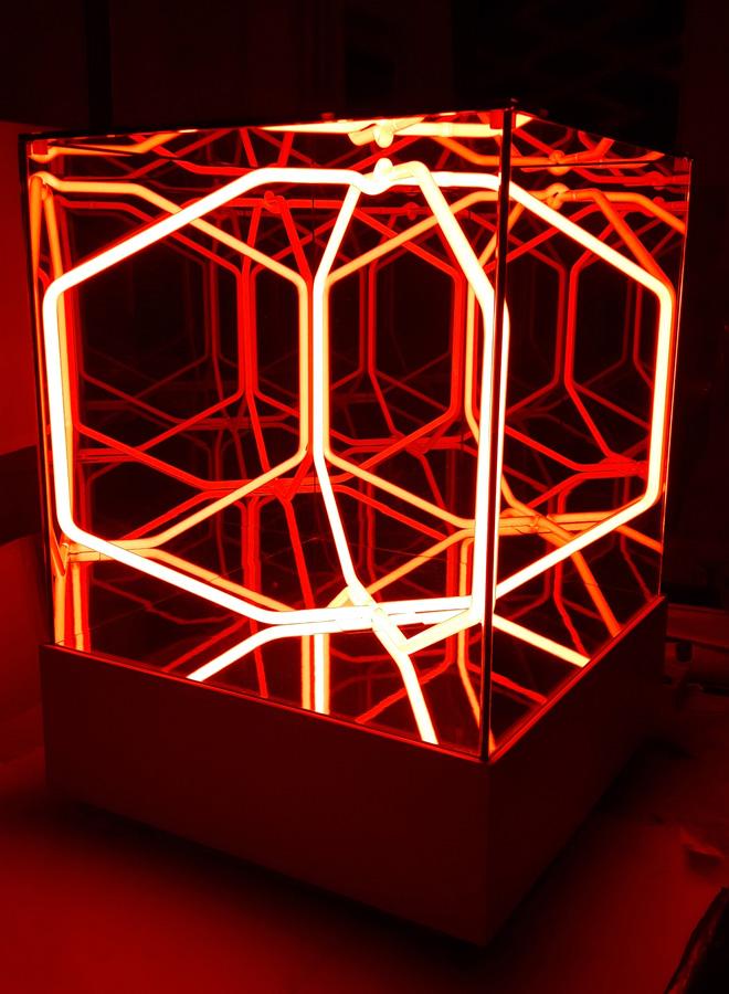 Paolo Scirpa G1bis. Cubo Multispaziale