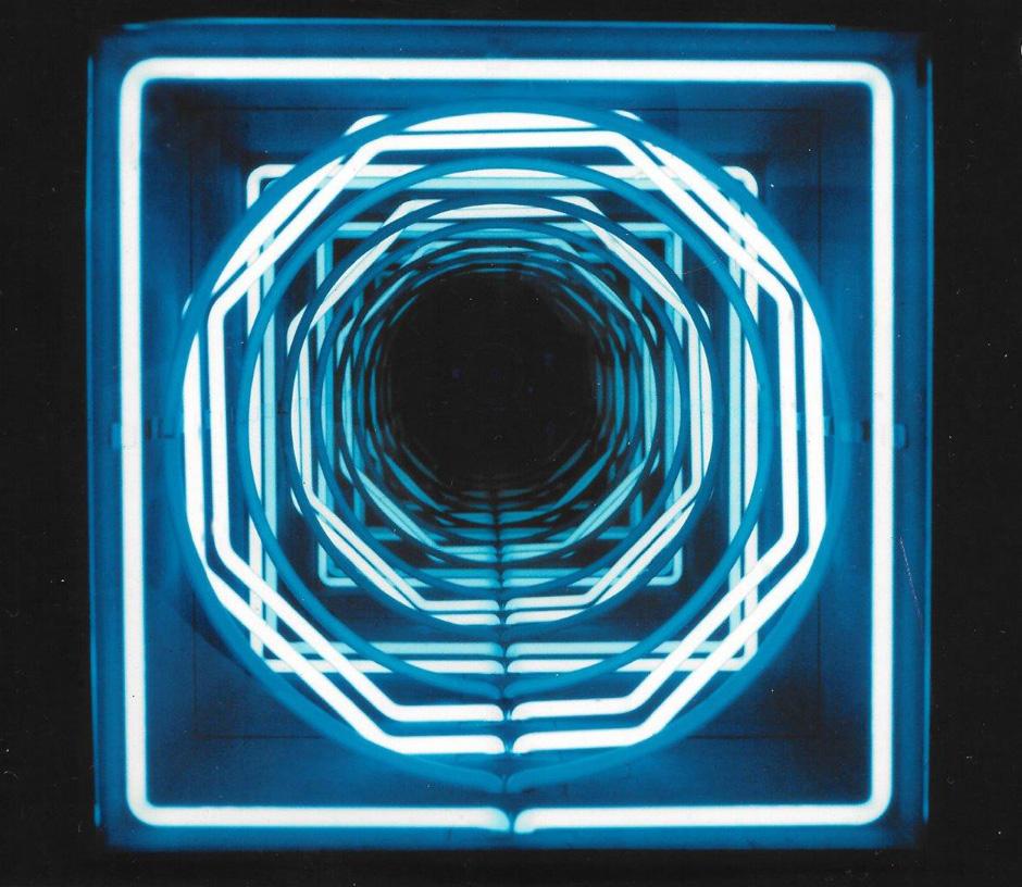 Paolo Scirpa N 112 Ludoscope Pozzo. Espansione A Luci Intermittenti